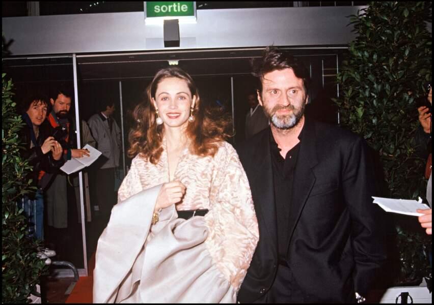 Daniel Auteuil et Emmanuelle Béart en 1992