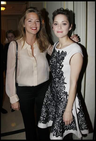 Virginie Efira cultive un style simple pour la soirée des Espoirs aux César en 2012