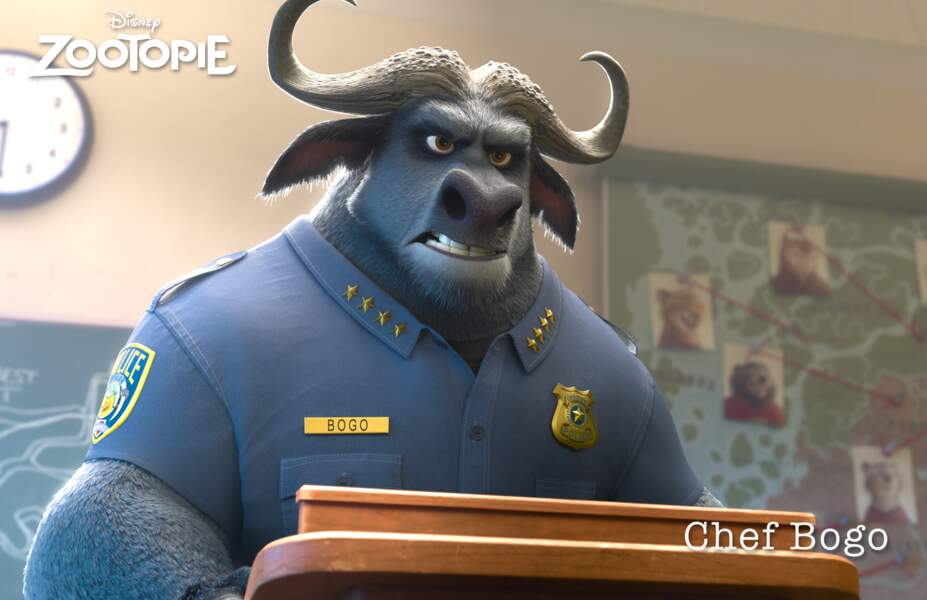 Le chef Bogo par Pascal Elbé