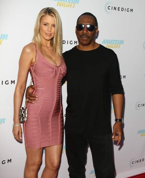 Eddie Murphy et sa compagne Paige Butcher à Hollywood en 2016