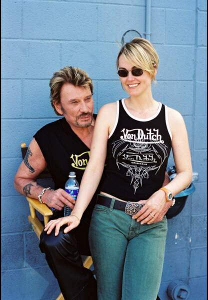 Mai 2003, lors d'une séance de répétition à Los Angeles.