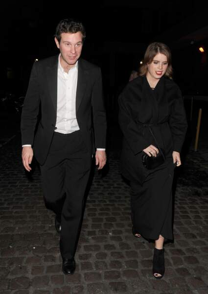 la princesse Eugenie d'York et son futur Jack Brooksbank en 2016