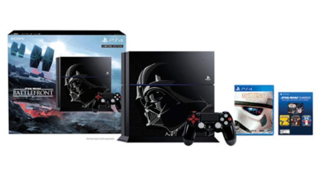La PS4 Bundle Star Wars Battlefront