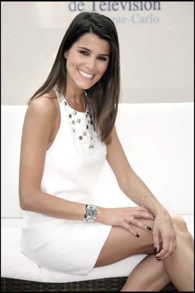 Karine Ferri au festival de la télévision de Monte Carlo, en 2009