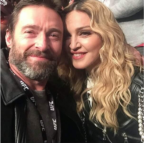 Hugh Jackman et Madonna