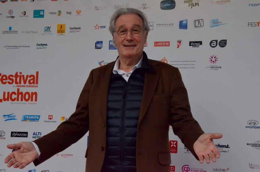 L'acteur Bernard Lecoq