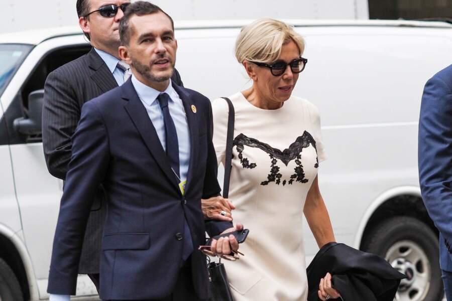 Brigitte Macron, en déplacement à New York