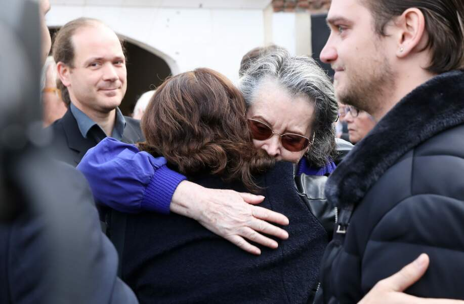 Dominique Lavanant n'a pu contenir ses larmes