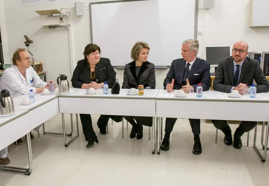 Réunion de travail avec la ministre de la Santé et le Premier ministre