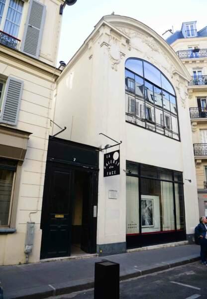 La galerie Acte2rivegauche/ La galerie d'en face, lieu de l'exposition