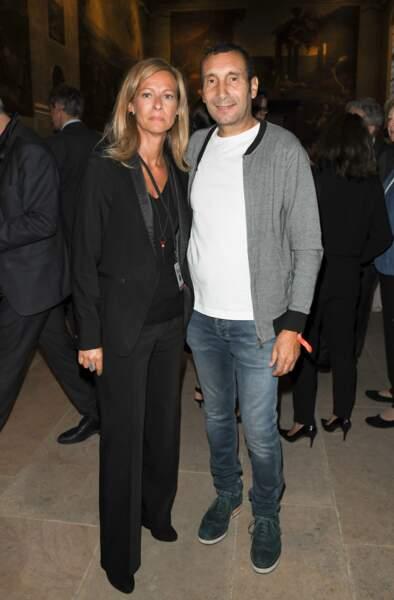 Anne Gravoin s'est également affichée aux côtés du comédien Zinedine Soualem