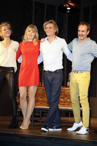 Clemence Ansault, Mélanie Page, Yvan Le Bolloc'h et Bruno Solo