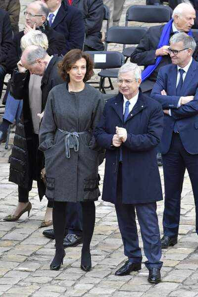 Audrey Azoulay et Claude Bartolone