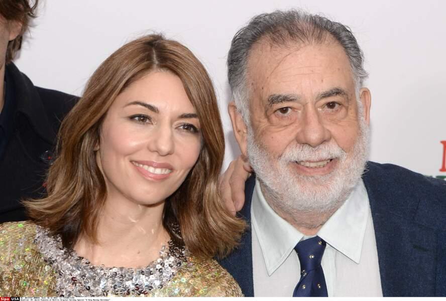 Sofia et Francis Ford Coppola, réalisateurs de père en fille
