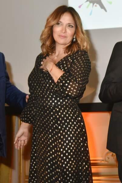 Hélène Segara lors du Best Award Gala au Cercle Interallié à Paris, le 25 janvier 2019