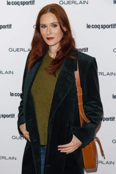 Les longueurs mess ultra naturelles de l'actrice Audrey Fleurot.