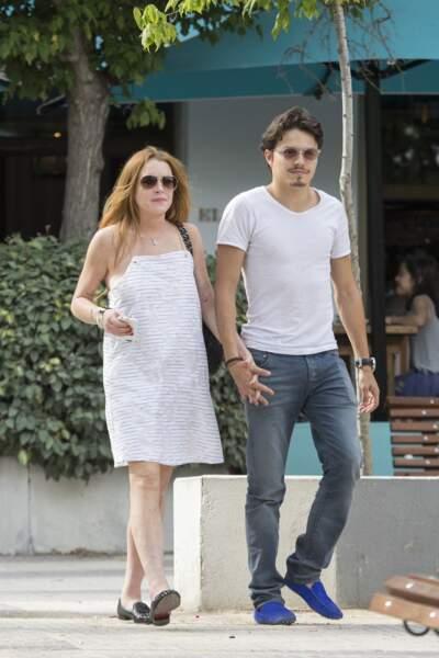 Lindsay Lohan et Egor Tarabasov ont rompu leurs fiançailles dans une grosse dispute il y a quelques jours