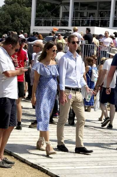 Pippa Middleton et son mari au Goodwood Festival of Speed