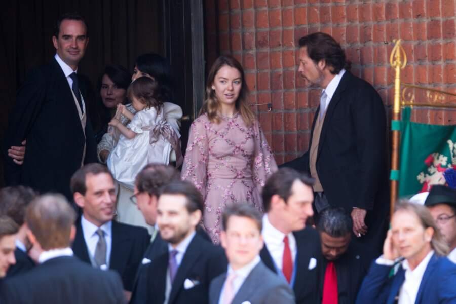La princesse Alexandra de Hanovre au mariage du prince Ernst August Jr de Hanovre