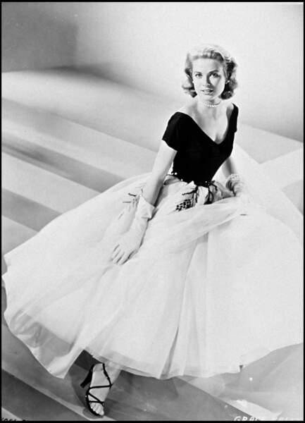 """Grace Kelly dans le film """"Fenêtre sur cour"""" en 1954"""