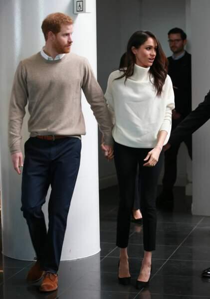 Le prince Harry et Meghan Markle ne se déplacent jamais sans se donner la main...
