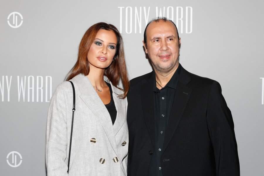 Malika Ménard et le couturier libanais Tony Ward