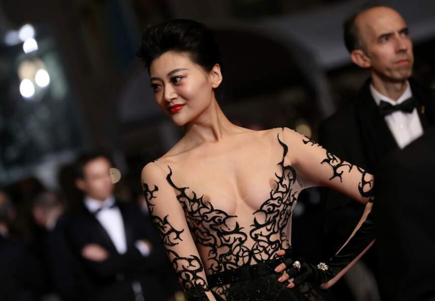 Était-ce voulu, ou un problème d'ajustement ? Cette vision aura fait parler lors du festival de Cannes 2018.