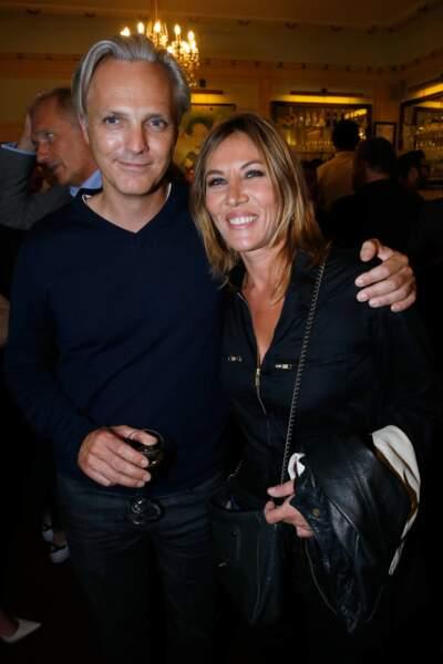 Mathilde Seigner et son mari