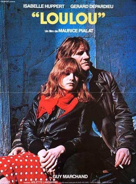 """Loulou"", en 1980 avec Isabelle Huppert"