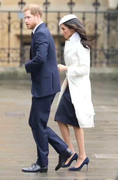 Meghan Markle et le prince Harry à quelques semaines du grand jour...