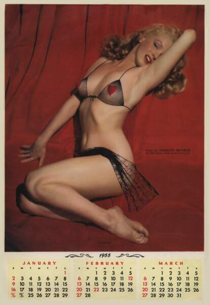 1955, Marilyn Monroe est un véritable sex-symbol