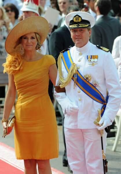 La reine Maxima  au mariage d'Albert II et de Charlène de Monaco, juillet 2011  Photo by Venturelli/WireImage