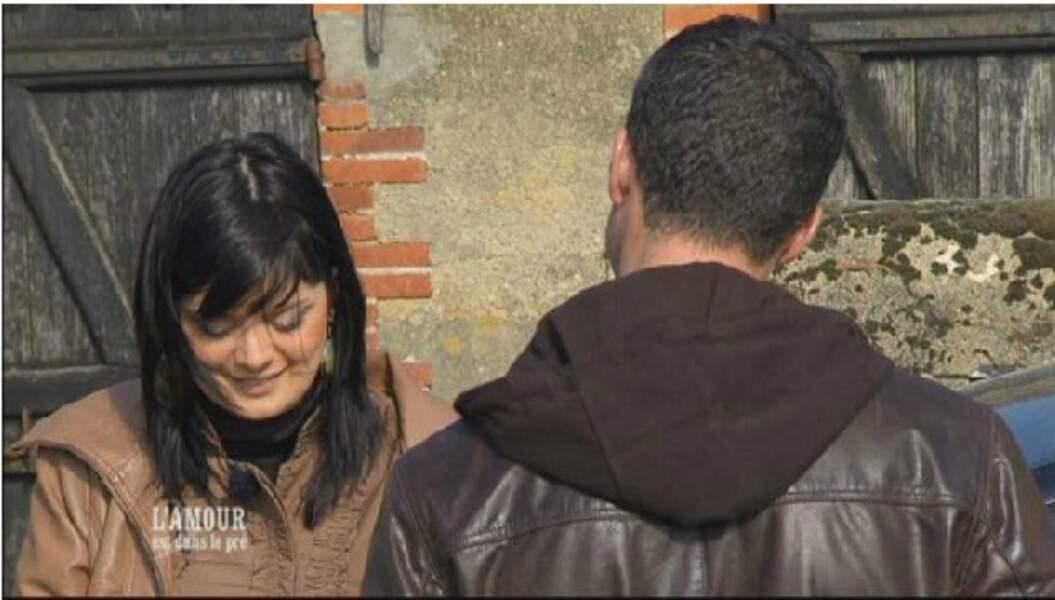 Matthieu et Melina, en 2011