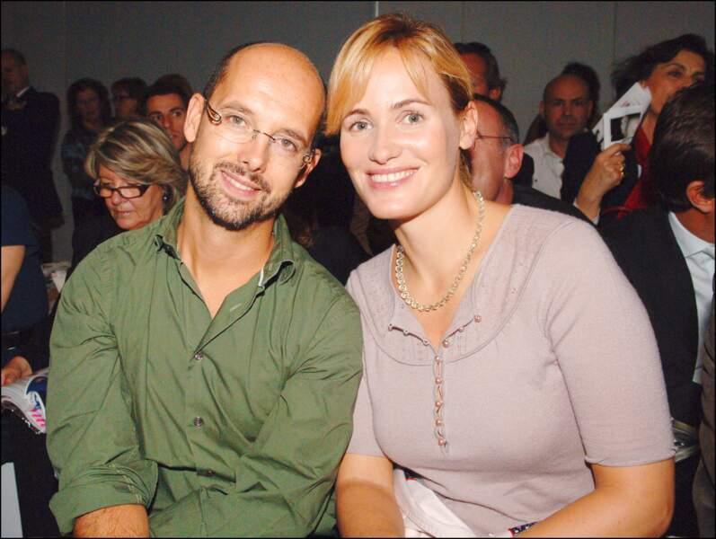Maurice Barthélémy et Judith Godrèche Godrèche (2007)