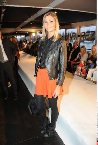 Inspirée par la naissance de sa fille Ava en 2010, Miss France 2006 a lancé une ligne de vêtements pour enfants.