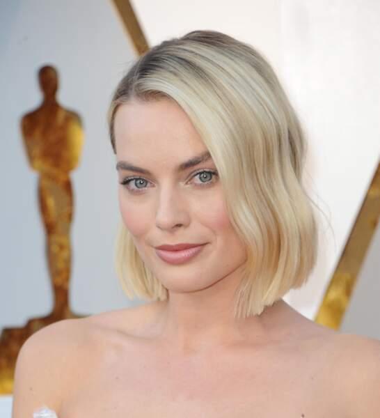 Le side-hair sublime sur Margot Robbie