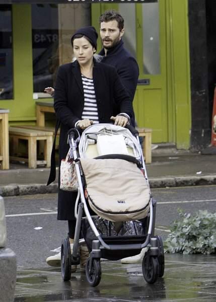 Jamie Dornan et Amelia Warner