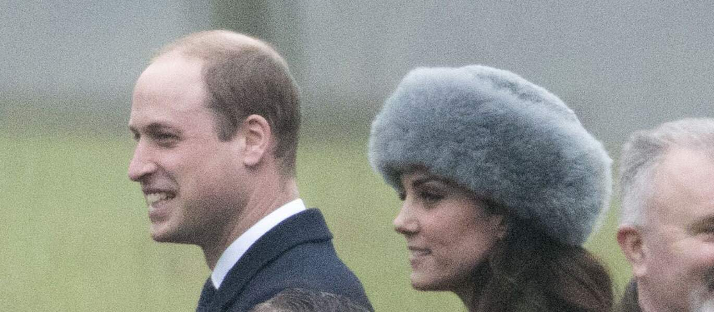 Kate Middleton arborait sa chapka en renard
