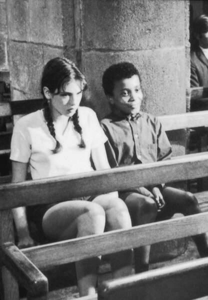 """Son premier rôle dans """"Le Petit Bougnat"""" en 1970"""