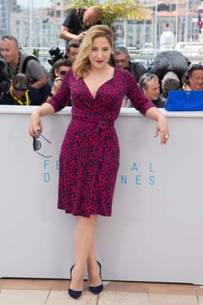 """Au photocall du film """"Vice Versa"""" au Festival de Cannes en 2015"""
