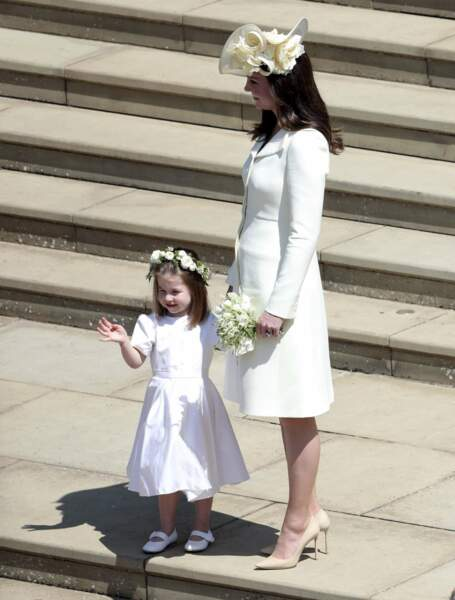 Kate Middleton au mariage de Meghan et Harry