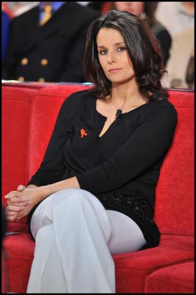 Faustine Bollaert  à l'âge de 31 ans le 24 mars 2010 à Paris
