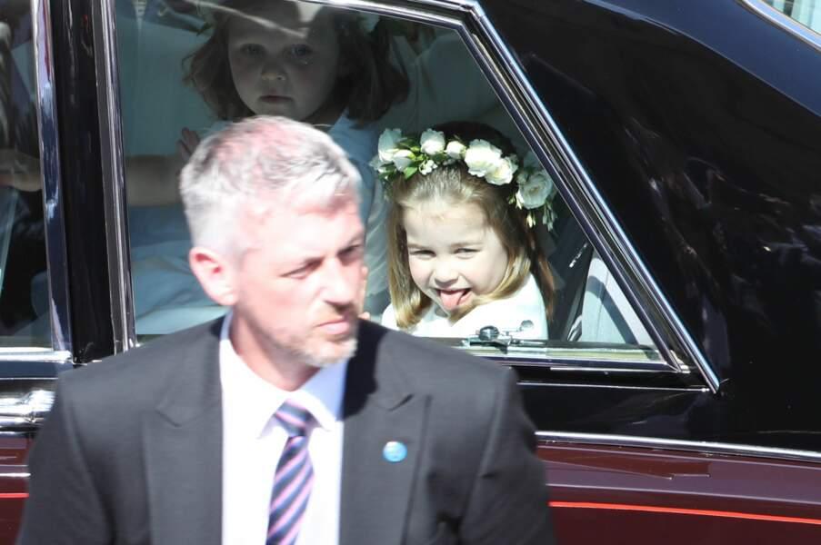 La princesse Charlotte mutine