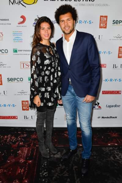 Jo-Wilfried Tsonga et Noura El Shwekh
