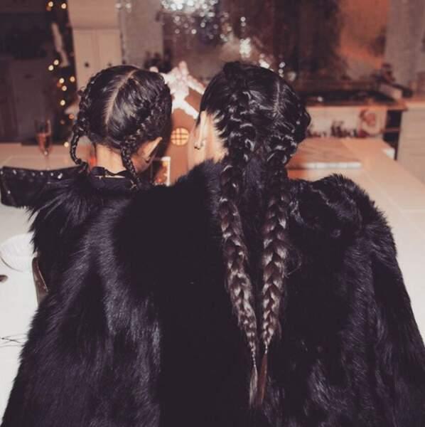 Kim Kardashian et North West sur son compte Instagram