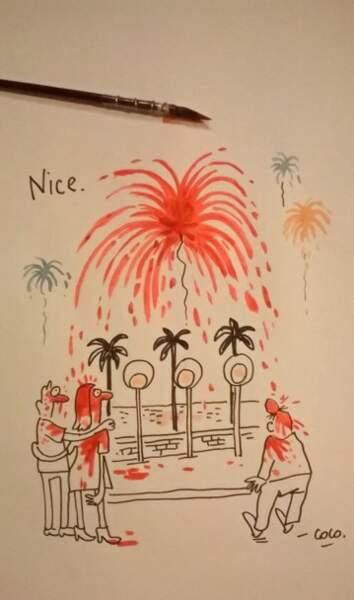 Coco, la dessinatrice de Charlie Hebdo.