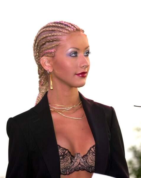 Christina Aguilera en 2001