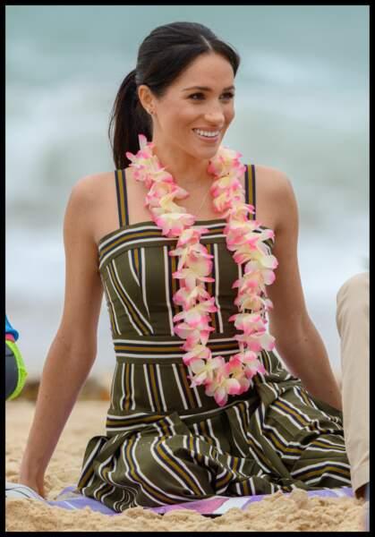Meghan Markle est radieuse dans sa robe estivale très bohème chic