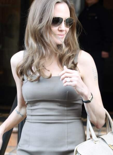 Angelina Jolie s'est mariée avec Brad Pitt en août 2014, avant de se séparer deux ans plus tard