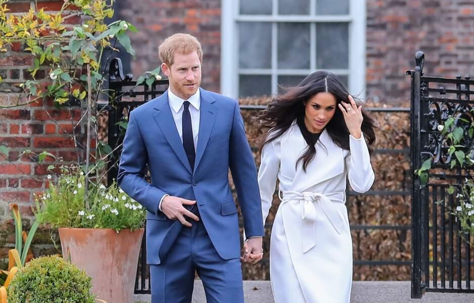 Le prince Harry et Meghan Markle vont se marier au printemps 2018